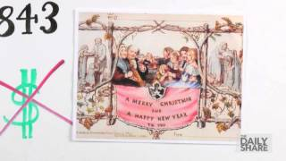 Where did Christmas cards come from?