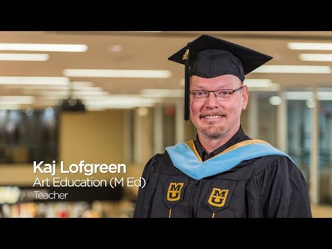 Kaj Lofgreen: Master of Education in Art Education `17, University of Missouri