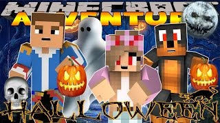 Minecraft - Little Donny Adventures -EVIL KELLY & EVIL DONUT PLAN A HALLOWEEN PARTY