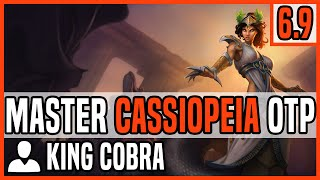 Patch 6.9 Cassiopeia Mid OTP  - Matchup: Veigar - Ranked Master NA