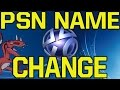 PSN Name Change Coming to PlayStation 4 (PS4)?! - Change PSN ID after PlayStation Experience 2016?