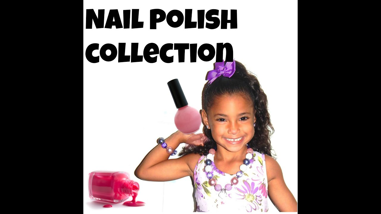 Little Girls Nail Polish Collection