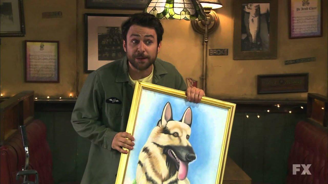 Dog Painting It S Always Sunny
