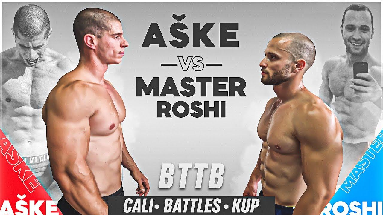 Aške VS Master Roshi - BTTB CALI BATTLES 1/8
