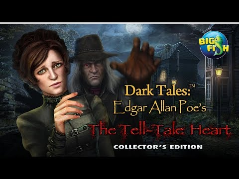 Dark Tales: Edgar Allan Poe's The Tell-Tale Heart (CE) Walkthrough/Longplay NO COMMENTARY