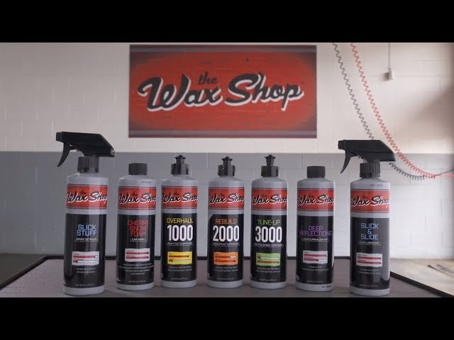 The Wax Shop Products