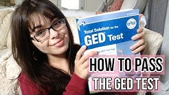How to PASS the GED Test! | My Experience +Tips