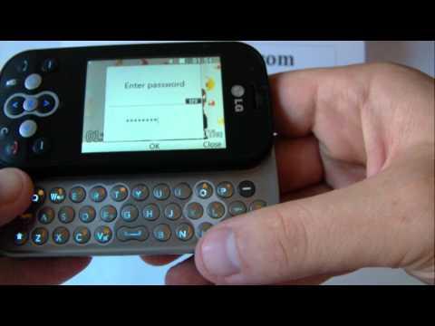 LG KS360 Unlock & input / enter code