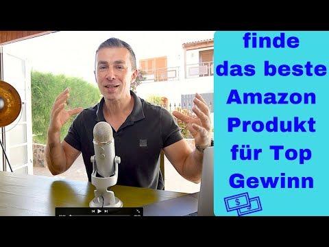 Finde Das Beste Produkt Zum Verkaufen Auf Amazon - Die 5 Regeln