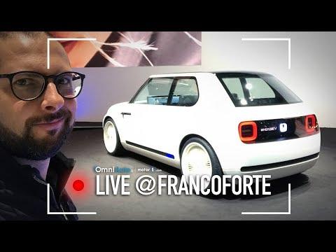 Urban EV Concept, il futuro di Honda è tecnologico ma in stile vintage | Salone di Francoforte 2017