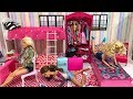Barbie and friends Routine! Girl Time! Ken and Friends!