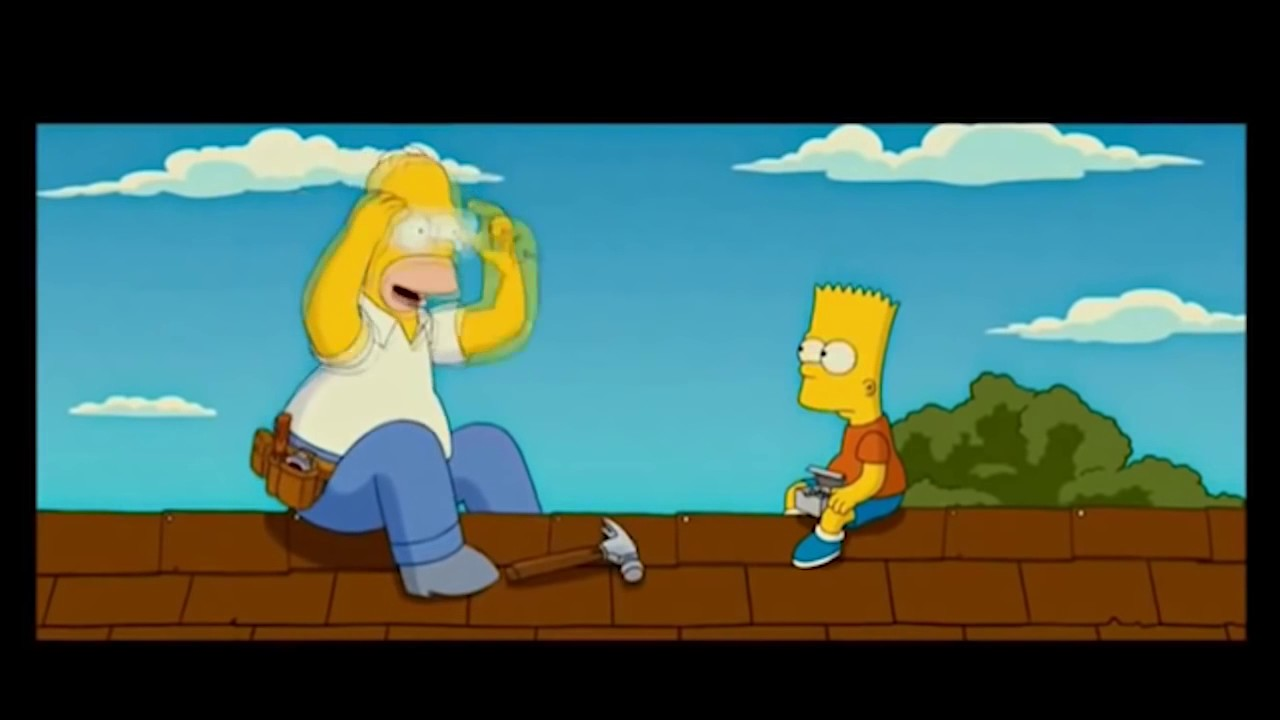 The Simpsons Movie Staty In To Hammer Clip Hd 720p Youtube