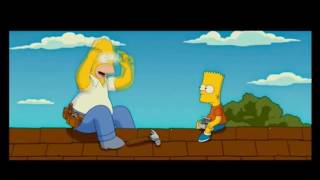 The Simpsons Movie staty in to hammer? clip HD 720p