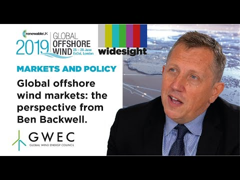 Ben Backwell, GWEC: Perspective on global offshore wind markets and the energy transition.