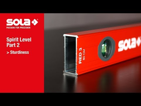 How to find high quality spirit levels | Part 2 - Sturdiness