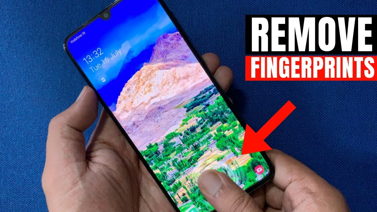 How To Remove Fingerprint Lock In Samsung Galaxy A70 Youtube