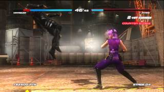 Gameplay: Dead or Alive 5 - Arcade Mode - Ryu Hayabusa - [Xbox 360]