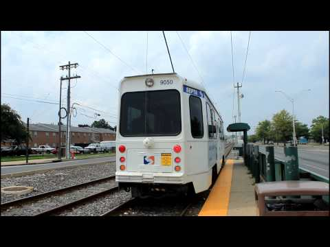 SEPTA Trolley: Double Route 36 at Island Ave & Lindbergh Blvd