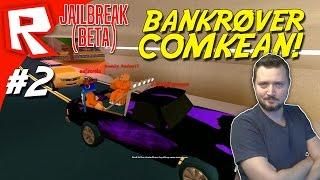 BANKRØVER COMKEAN! - Roblox Jailbreak Dansk Ep 2