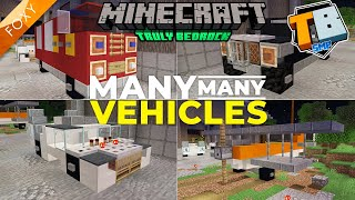 Many Many Vehicles | Truly Bedrock Season 1 [115] | Minecraft Bedrock Edition 1.14 SMP