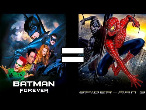 24 Reasons Batman Forever & Spider-Man 3 Are The Same Movie