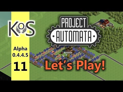 Project Automata (0.4.4.5) - Let's Play - Production Line Builder - Ep 11