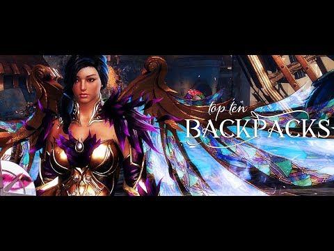 Guild Wars 2 Fashion Wars | Top Ten Backpacks