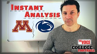 ROW, ROW, ROW / Minnesota Golden Gophers - Penn State Nittany Lions INSTANT ANALYSIS
