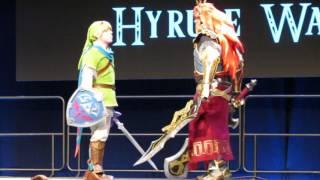 Anime Boston 2016 Masquerade Skit 2 - Hyrule Warrior