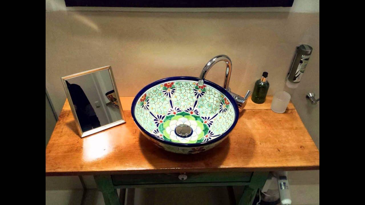 Sympathisch Ausgefallene Waschbecken Ideen Von Aus Mexiko Im Hotel Schloss Blumenthal Bei