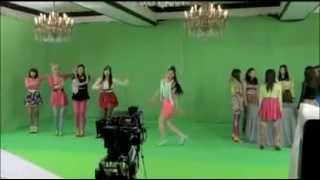 E-girls - JUST IN LOVE Music Video Making PART 3/3