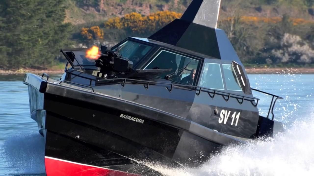 Safehaven Barracuda - prawdziwie ekstremalna motorówka