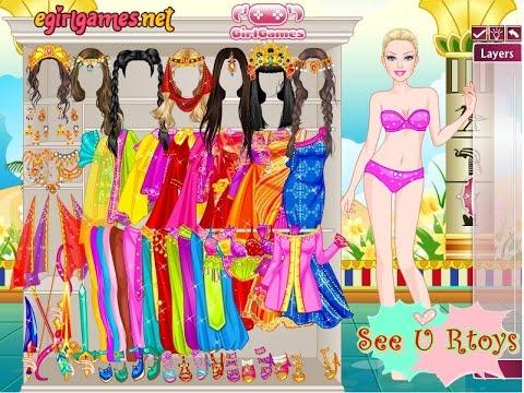 Barbie Persian Princess : เกมส์แต่งตัวบาร์บี้แนวอินเดีย
