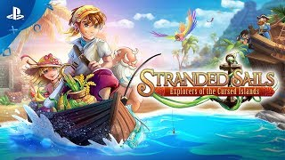 Stranded Sails: Explorers of the Cursed Islands | Launch trailer | PS4