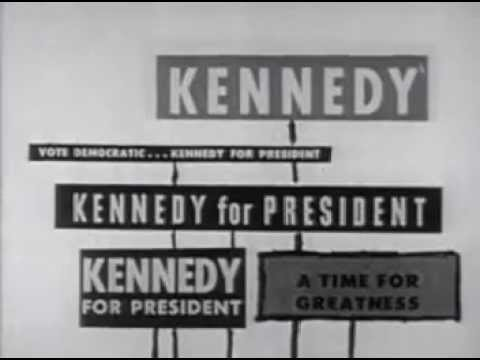 1960 U.S. Presidential Election Ad - Citizens for John F. Kennedy & Lyndon B. Johnson