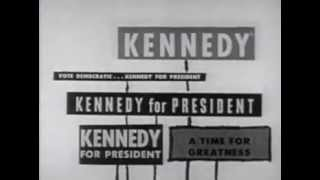 1960 U.S. Presidential Election Ad - Citizens for John F. Kennedy & Lyndon B. Johnson