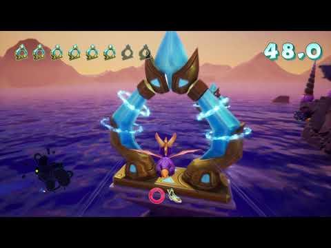 Spyro Reignited Trilogy. Ocean speedway 1.07 seconds