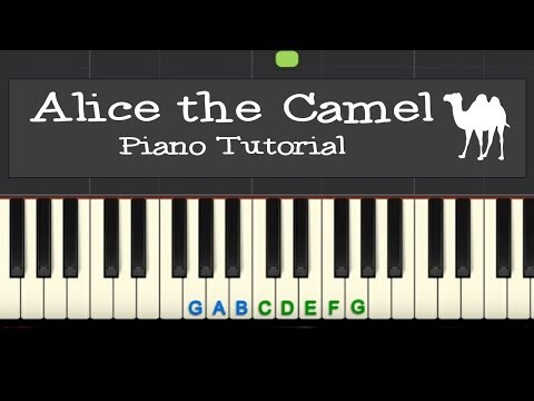 Alice the Camel: easy piano tutorial with free sheet music