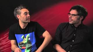 What We Do In The Shadows - Taika Waititi & Jemaine Clement Press Junket Interview