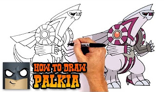 how to draw giratina step by step