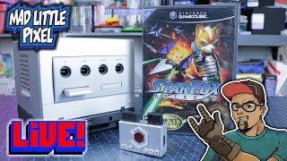 Madlittlepixel Live! Star Fox Assault GameCube HDMI MK-II EON GCHD!