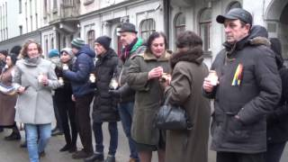 Литва вспомнила Майдан и Небесную сотню