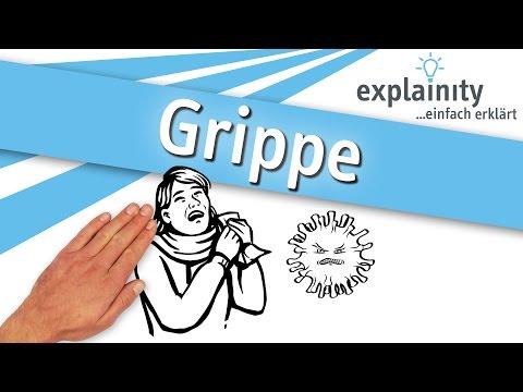 Grippe Einfach Erklärt (explainity® Erklärvideo)