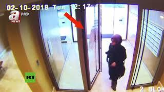 Revelan imágenes del último día con vida de Khashoggi