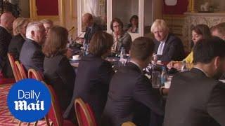 Boris Johnson meets US Secretary of State Rex Tillerson - Daily Mail