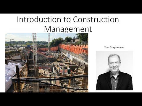 Introduction to Construction Management, Contract Procurement Methods Lecture 3B