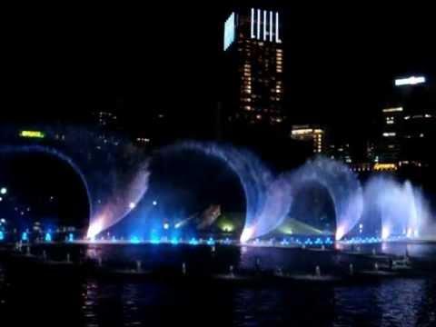 Dancing Fountain In Malaysia, Kuala Lumpur