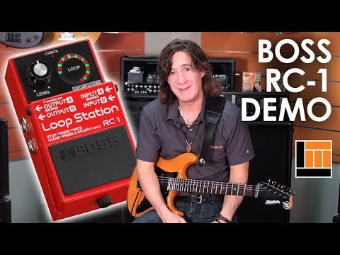 BOSS RC-1 Loop Station [Product Demonstration]