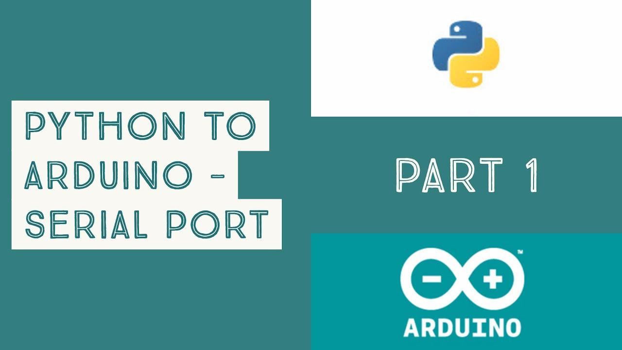 Python To Arduino using Serial Port