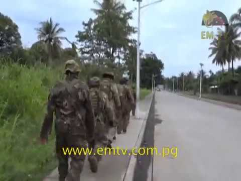 PNG Defence Force Engineering Battalion preparing for the National Election and APEC